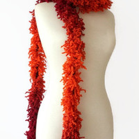 Hot Chili Scarf, Women Scarf, Fashion Scarf