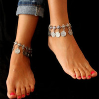 Ladies Sexy Shiny New Arrival Cute Jewelry Gift Stylish Vintage Style Metal Tassels Anklet [6937856327]
