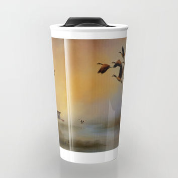 Homeward Bound Travel Mug by Theresa Campbell D'August Art
