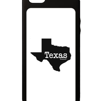 Texas - United States Shape iPhone 5C Grip Case  by TooLoud