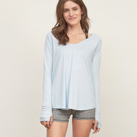 Easy Wrap Back Tee
