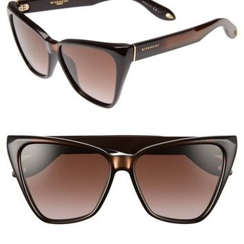 Givenchy 57mm Cat Eye Sunglasses | Nordstrom