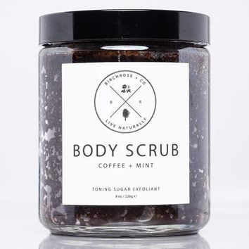 Birchrose + Co. | Coffee & Peppermint Body Scrub