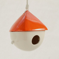 Two Tone Porcelain Birdhouse