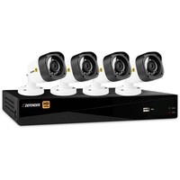 Defender HD 1080p 4-Channel 1TB DVR Security System with 4 Bullet Cameras - Walmart.com