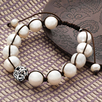 Rugged Pearls Bracelet, Bracelets - Silpada Designs