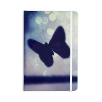 "Robin Dickinson ""Enchanted"" Lavender Butterfly Everything Notebook"
