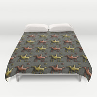 Cavalry Duvet Cover by LoRo  Art & Pictures