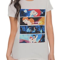 Disney The Little Mermaid Collage Girls T-Shirt | Hot Topic
