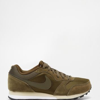 Nike MD Runner 2 Dark Green Trainers