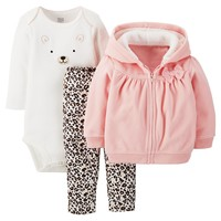 Just One You™ Made by Carter's® Fleece 3-Piece H... : Target