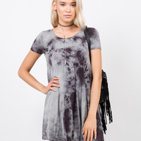 Cloudy Babydoll Dress