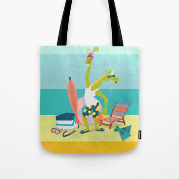 Ready For Unicorn Summer Tote Bag by That's So Unicorny
