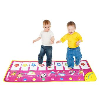 Animal Pattern Baby Touch Play Keyboard Musical Toys Music Carpet Mat Blanket Early Education Tool Toys Music Mat