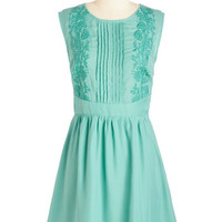 ModCloth Mid-length Sleeveless A-line Awe About It Dress