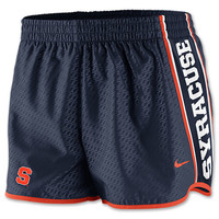 Women's Nike Syracuse Orange College Chainmaille Pacer Shorts