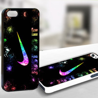 Nike Just Do it With Sparkle WDC011 - Design on Hard Cover - iPhone 4 / 4S Case, iPhone 5 Case