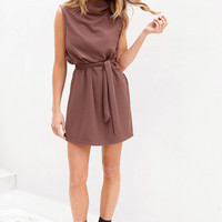 Ribbed Pecan Dress - Dresses by Sabo Skirt