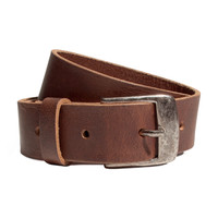 H&M - Leather Belt - Brown - Kids