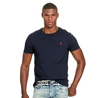 Men's Polo Ralph Lauren Casual Embroidery Shirt Top Tee