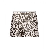 diane von furstenberg - naples midado wool and silk-blend shorts