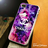 Chanel logo iPhone 4 5 5c 6 Plus Case, Samsung Galaxy S3 S4 S5 Note 3 4 Case, iPod 4 5 Case, HtC One M7 M8 and Nexus Case