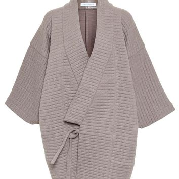 J.W.ANDERSON | Waffle Kimono Coat | brownsfashion.com | The Finest Edit of Luxury Fashion | Clothes, Shoes, Bags and Accessories for Men & Women