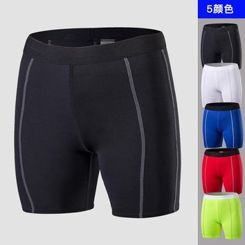 Women Running Sport Shorts Elastic Quick Dry Workout Yoga Shorts Compression Knitted Breathable Shorts Gym Active Joggers Shorts