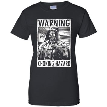 Star Wars Choking Hazard Graphic T-Shirt cool shirt
