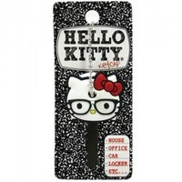 Keyrings and Caps with FREE UK Delivery from Artbox.co.uk Character Shop - Hello Kitty Keycap: Nerd KT