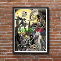 Nightmare Before Christmas (with beetlejuice) Photo Poster
