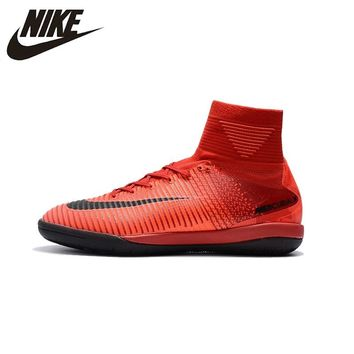 Nike MERCURIALX PROXIMOII Men Football Boots TF High Ankle FG Soccer Shoes Turf Superfly indoor 831976-034 39-45