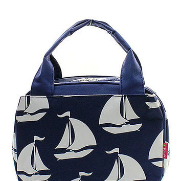 Lunch Tote Sailboat