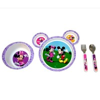 Disney Mickey Mouse & Friends Minnie Mouse 4-pc. Feeding Set by The First Years (Pink)