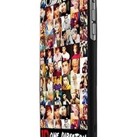 One Direction Collection Custom Case for Iphone 5/5s Iphone 6/6 Plus Black and White (iPhone 6 Black Plastic)