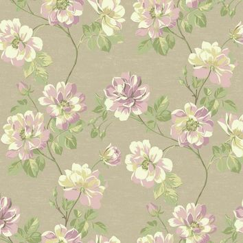 York JC5905 Opal Essence Wild Rose Wallpaper
