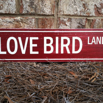 Custom Wooden Street Sign Hand Painted and by ExpressionsWallArt