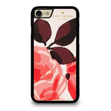 KATE SPADE CAMEROON STREET ROSES iPhone 4/4S 5/5S/SE 5C 6/6S 7 8 Plus X Case