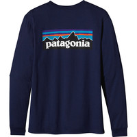 Patagonia P-6 Logo T-Shirt - Long-Sleeve - Men's
