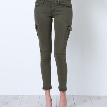 Get Them Right Cargo Skinny Jeans