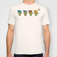 TMNT Chibis T-shirt by Katie Simpson | Society6