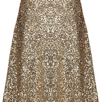 All That Glitters Skirt - Gold