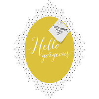 Allyson Johnson Hello Gorgeous Baroque Magnet Board