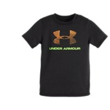 Under Armour Boys' Toddler UA Hunt Big Logo T-Shirt