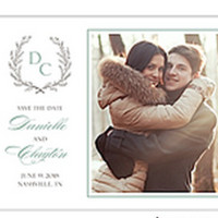 Provencial Garland - Photo Save the Date