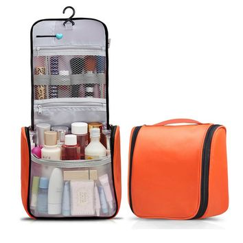 Women Men Toiletry Bag Travel Cosmetic Bag Large Capacity Genuine Polyester Travel Bag Women Professional Cosmetic Bag