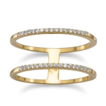 Double Up Ring - Gold