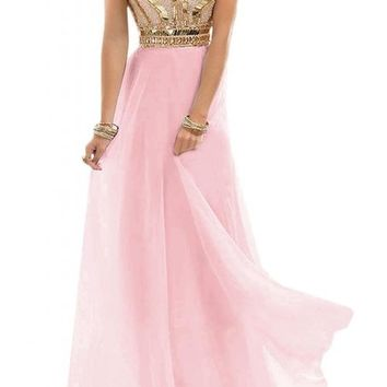 Angel Bride 2015 Fashion Column Floor Length Sweetheart Chiffon Prom Dresses