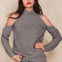 Turtleneck Off Shoulder Knitted Sweater Autumn Fashion Tricot Pullover Jumpers