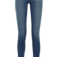 J Brand - Stacked Skinny mid-rise jeans